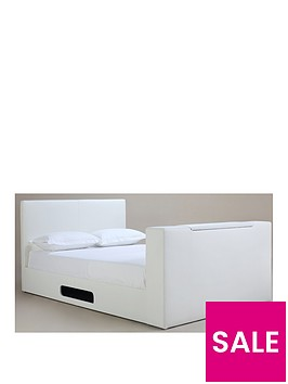 talbot-faux-leather-tv-bed-frame-with-mattress-options-buy-and-save