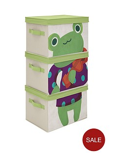 kidspace-ideal-kids-set-of-3-frog-storage-boxes
