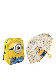 minions-back-pack-and-umbrella-set