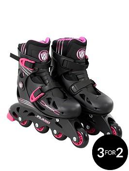 wired-wired-flash-adjustable-inline-skates-13-3-pink