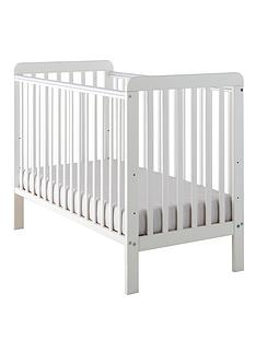 little-acorns-classic-cot-white
