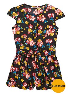 freespirit-girls-70snbspboho-floral-playsuit