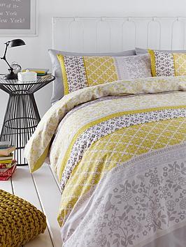 catherine-lansfield-oriental-birds-cotton-rich-duvet-cover-set