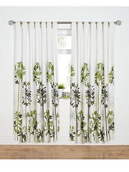 agapanthusnbsptab-top-curtains-green