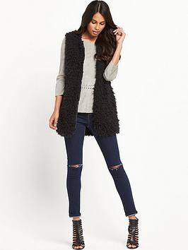 vero-moda-fuzzy-fake-fur-waistcoat