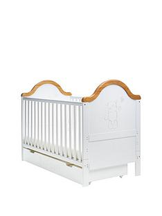 obaby-b-is-for-bear-cot-bed-and-under-drawer-amp-free-sprungnbspmattress