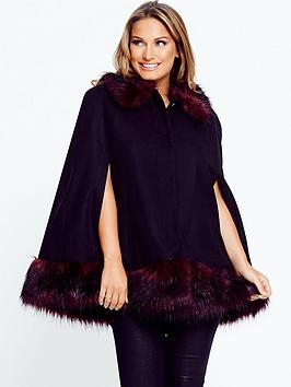 samantha-faiers-cape-with-faux-fur-trim
