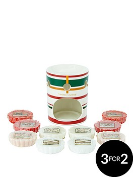 yankee-candle-presents-melt-warmer-with-10-classic-festive-wax-melts