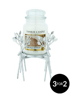 yankee-candle-silver-reindeer-jar-holder-with-classic-large-jar-angel039s-wings