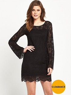 denim-supply-ralph-lauren-bell-sleeve-lace-dress