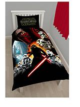Star Wars Poster Panel Duvet Cover and Pillowcase Set in Single Size