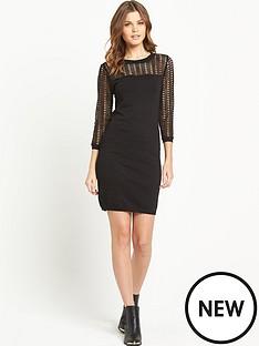 v-by-very-crochet-lace-metallic-jumper-dress