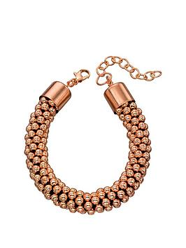 fiorelli-rose-gold-bead-bracelet