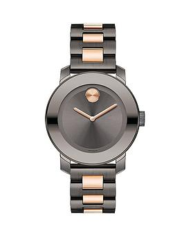 movado-bold-gunmetal-and-rose-gold-ladies-watch