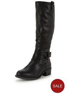 shoe-box-block-heel-casual-strappy-knee-boot