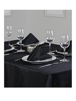 linen-look-oblong-table-linen-set-4-place-settings-52x70-inch