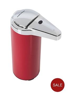 morphy-richards-sensor-soap-dispenser-250ml-red