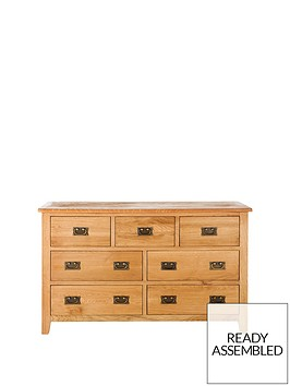 london-3-4-drawer-ready-assembled-oak-chest
