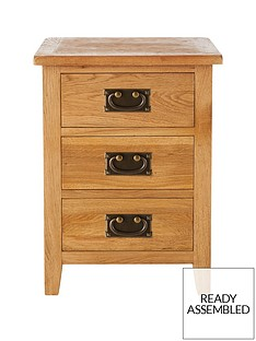 london-ready-assembled-3-drawer-oak-bedside-cabinet