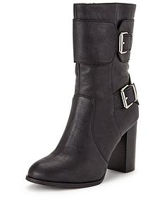 shoe-box-saskianbspbuckle-detail-block-heel-calf-bootnbsp