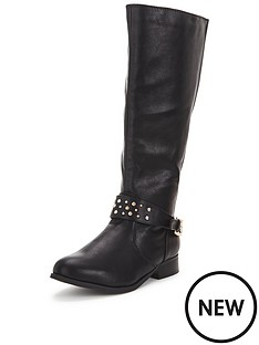 so-fabulous-tyra-stud-detail-knee-boot-back-elastic-black-wide-fit