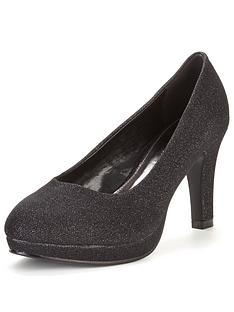 so-fabulous-matilda-extra-wide-fit-platform-court-shoe-black-sparkle