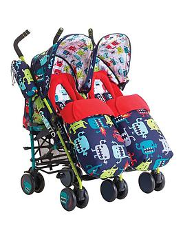 cosatto-supa-dupa-twin-stroller-cuddle-monster-2