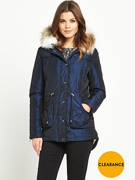 south-two-tone-parka-coatnbsp