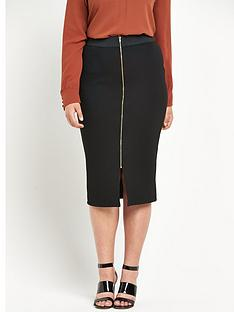 so-fabulous-zip-front-textured-pencil-skirt