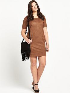 so-fabulous-suedette-pocket-tunic-dress