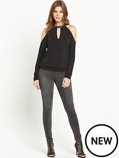 v-by-very-cold-shoulder-embellished-top