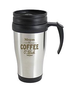 personalised-coffee-oclock-travel-mug