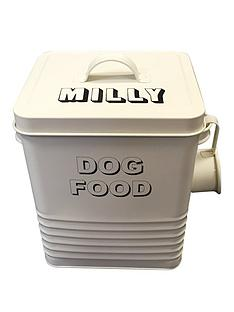 personalised-dog-food-storage-jar