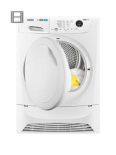 zanussi-zdh8333pz-8kg-condenser-sensor-dryer-white