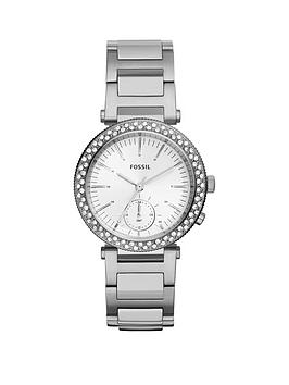 fossil-fossil-urban-traveller-crystal-set-multi-dial-stainless-steel-bracelet-ladies-watch