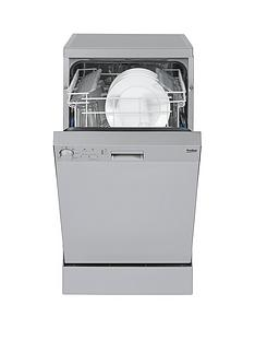beko-dfs05010s-10-place-slimline-dishwasher-silver