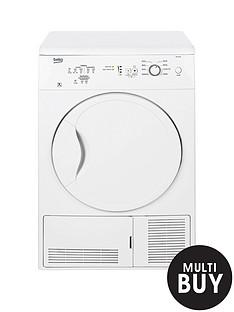 beko-dc7112w-7kg-condenser-dryer-white