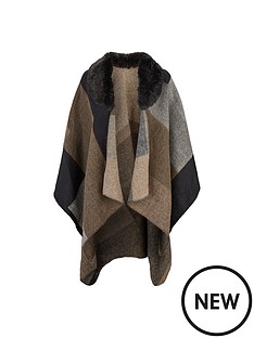 lipsy-cape-with-faux-fur-collar