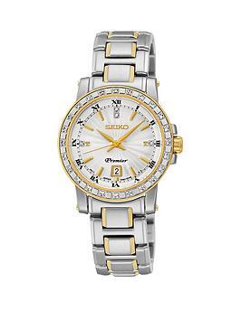 seiko-white-dial-premier-quartz-two-tone-stainless-steel-bracelet-ladies-watch