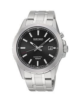 seiko-black-dial-kinetic-stainless-steel-bracelet-mens-watch