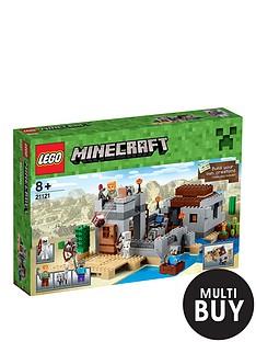 lego-minecraft-the-desert-outpost-21121-amp-free-lego-city-brickmaster