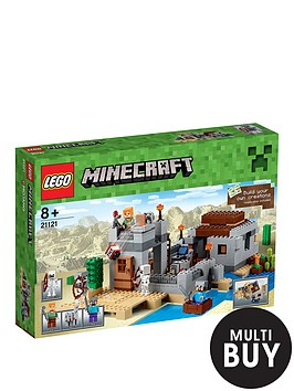lego-minecraft-the-desert-outpost-21121-amp-free-lego-city-brickmaster