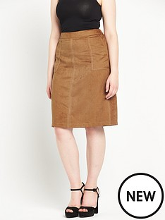 so-fabulous-suedette-pocket-midi-skirt