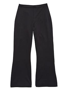freespirit-girls-black-70snbspcrepe-flares