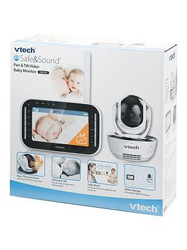 vtech pan and tilt video baby monitor vm343. Black Bedroom Furniture Sets. Home Design Ideas