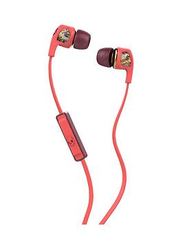 skullcandy-dime-womens-in-ear-headphones-with-mic-coralfloralburgundy