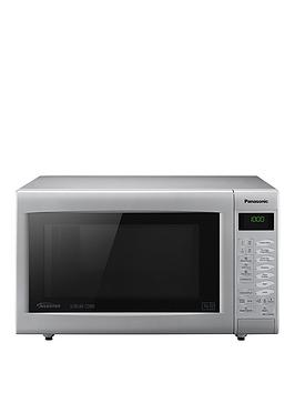panasonic-nn-ct565mbpq-slimline-combination-microwave-silver