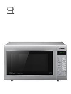 panasonic-panasonic-nn-ct565mbpq-slimline-combination-microwave-silver