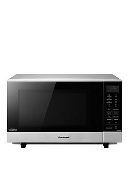 panasonic-27-litre-flatbed-microwave-with-inverter-technology-nn-sf464mbpq-silver