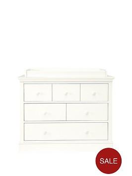 mamas-papas-oxford-dresser-changer-white